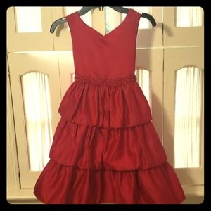 New with tags. Princess Faith red holiday dress